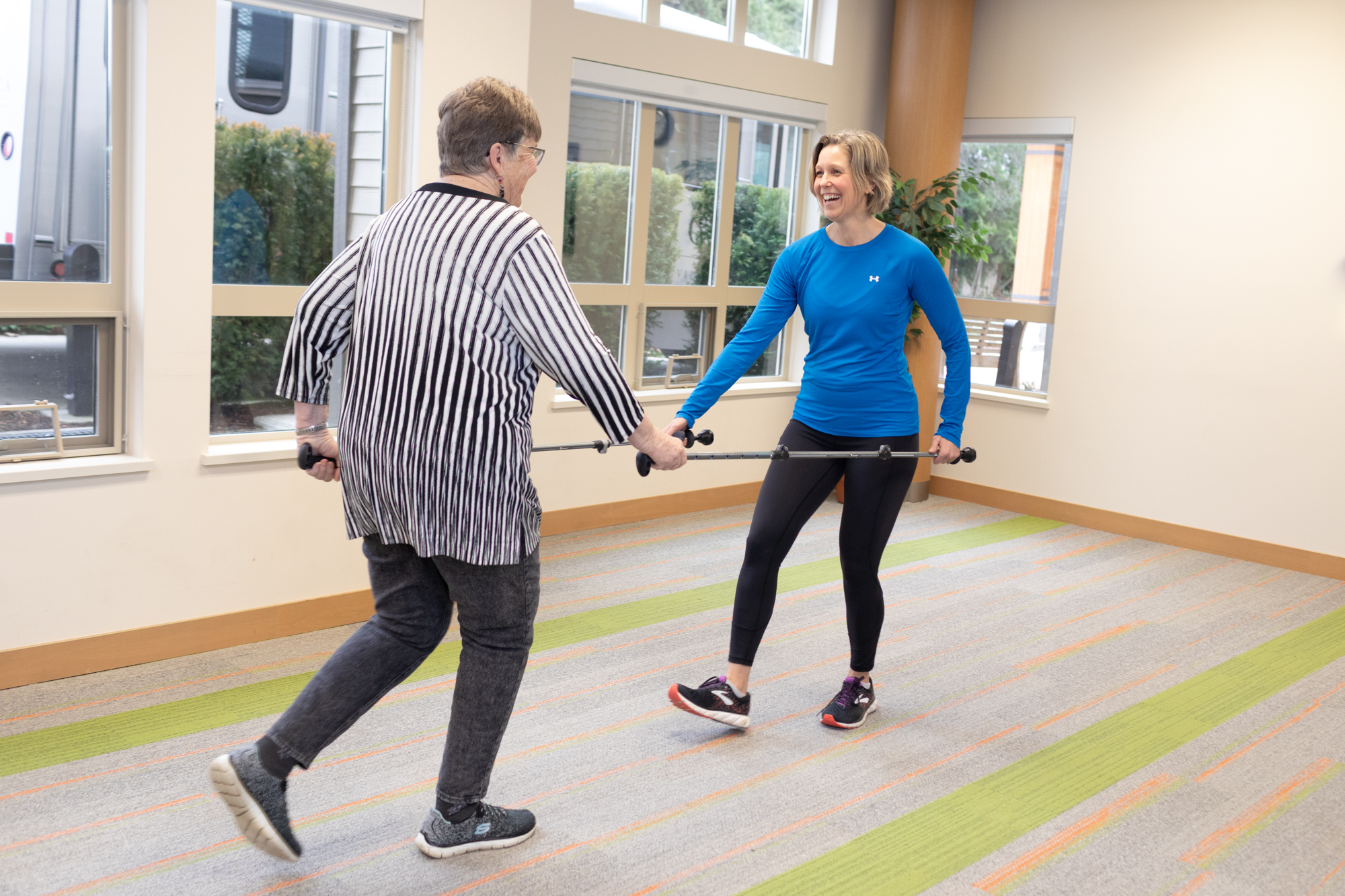 Harvard Health Supports the Benefits of Walking with Poles – Blog article in PT Helper