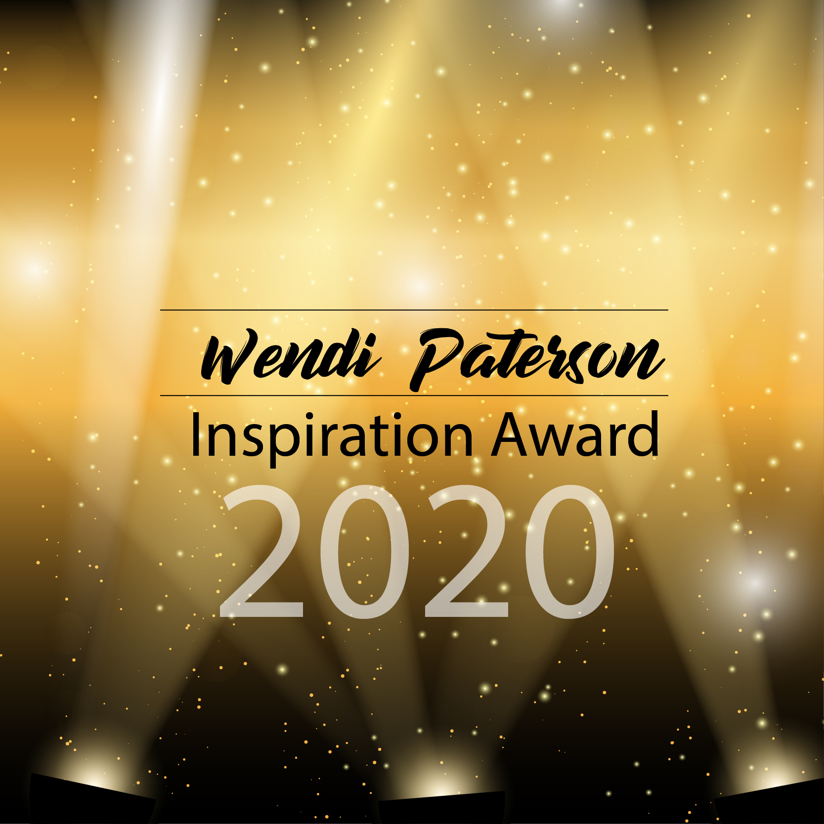 Wendi Paterson Inspiration Award – February 2020